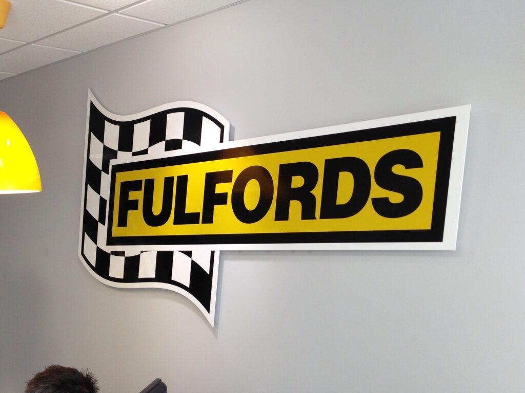 Fulfords internal logo