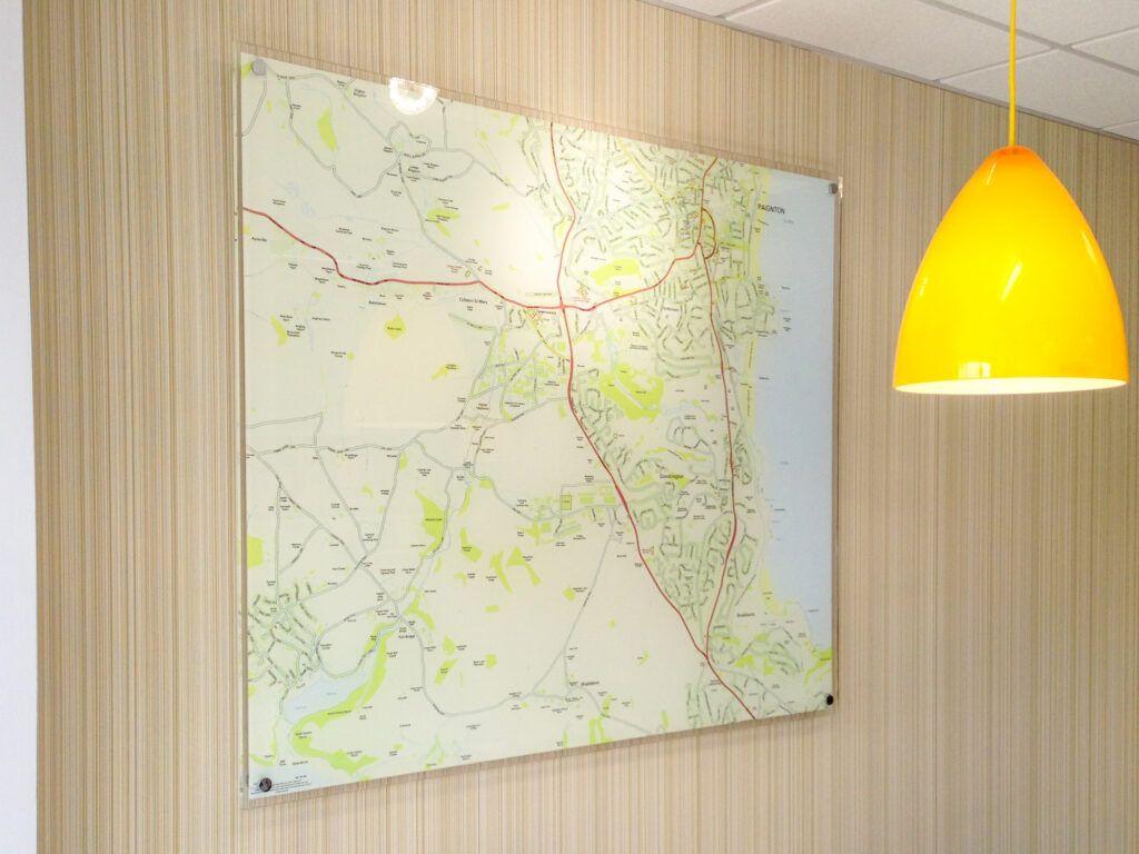Fulfords local area map