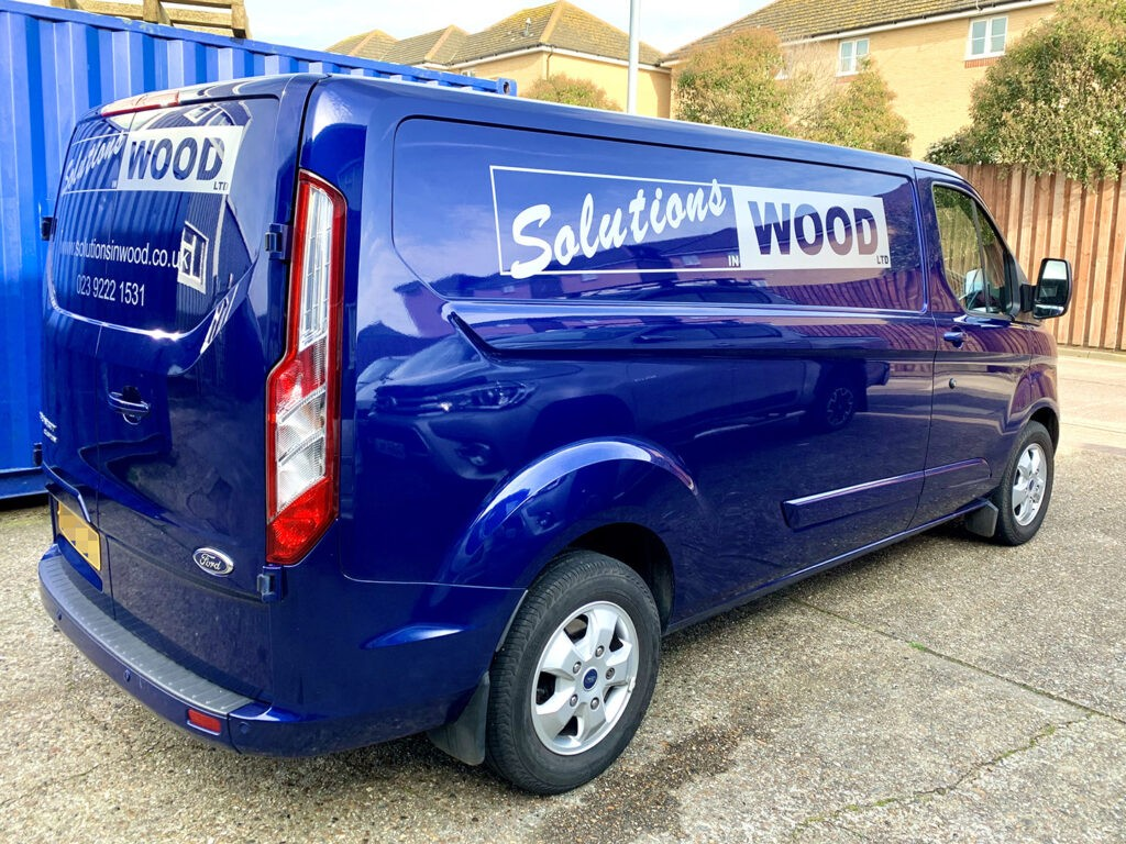 Solutions in Wood vehicle graphics