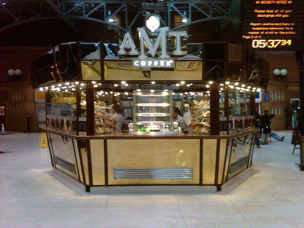 AMT Coffee Kiosk at Marylebone Station