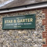 Star & Garter - wall sign